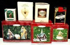 Lot of 7 Vintage Hallmark Keepsake Collectible Christmas Ornaments Magic Light