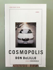 Don DeLillo SIGNED Cosmolopis US Uncorrected proof ARC