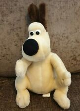 Wallace And Gromit Dog Soft Toy Plush Vintage 1989 80s Rare Aardman