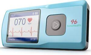 SonoHealth Portable EKG Heart Rate Monitor Wireless Handheld