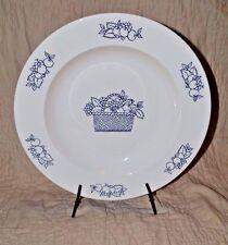Gien France Serving Plate Bowl Fruit Rim & Center EUC Desnoyers Porcher