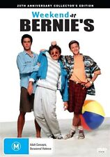 Weekend At Bernie's (DVD) R4 BRAND NEW SEALED - FREE POST!