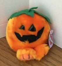 Swibco PUFFKINS GOURDY 1997 Halloween Plush Style 6663 w/Original Tag  CUTE!