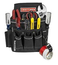 Craftsman Electrician's Pouch Tool Belt Storage Apron Rig Holster Pocket NEW