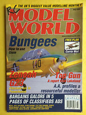 RC Model World - Radio Controlled Aircraft, July 2002 - Free Model Plan Inside