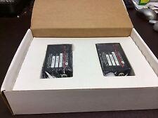 (2) FIBERVISION FIBER OPTIC VIDEO RECEIVER NEW IN BOX FR-1001-1 SALE $175
