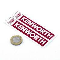 Kenworth Trucks Sticker Decal Vinyl 100mm x2 Truck Wagon Lorry Window Cab