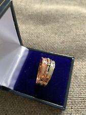 Ladies Fabulous Silver Ring  With Cubic Zirconia Stones Size M/n