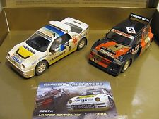 """Scalextric C3267a 2er-Set Classic Rallycross mit Ford RS200/Metro 6R4"""" gealtert"""