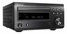 Denon RCD-M41DAB CD Player Receiver with High Output Power in Black