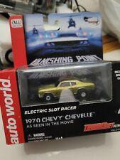 Auto World thunderjet/ vanishing point/1970 chevelle/Ho Slot Cars /silver screen