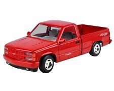 1:24 Chevrolet 1992 454 SS Pickup (Red) - Motor Max Diecast Model Car 73203