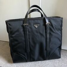 bfeecd1d60f2 Genuine Prada Saffiano Unisex Tote with Adjustable Leather Handles