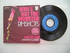 Rimshots / Whatnauts Band - Who's Got The Monst,USA'74,7'' (Single),Vinyl: vg++