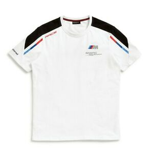 New BMW Motorsport T-Shirt Men's XL White #76629446438