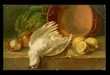 Still Life Art Series Bird C Klein artist drawn Tuck #6915 PPC