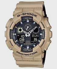 Crazy Deal New G-Shock GA100L-8A Color Model Light Beige/Black Analog-digital