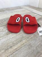 Adidas x HATTIE STEWART Women's Originals Red Adilette Slide Sandal Sz 9 CM8412