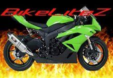 09 10 11 12 Kawasaki zx6r zx6 r Fender Eliminator 2009 2010 2011 Tag holder 2012
