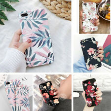 Hybrid Shockproof Hard Flower Ultra Thin Case Cover For Samsung Galaxy Phones