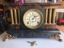 Antique Seth Thomas Mantel Clock w/ 89 Movement - Read Description