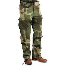 Woodland Camo Vintage Paratrooper Fatigues BDU Cargo Pants Army USMC Hunting Regular 2xl