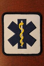 "EMS - EMERGENCY MEDICAL FIRST RESPONDER PATCH - EMT TECHNICIAN - Unit -  3"" x 3"""