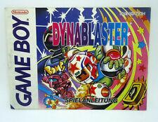 Dynablaster - manual / Anleitung - DE - Nintendo Game Boy - DMG-HB-NOE-1