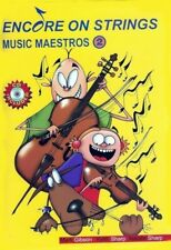 Encore On Strings Music Maestros Cello Book 2 *NEW* Inc Play-Along CD