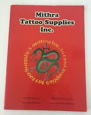 Mithra Tattoo Supplies Catalog / Magazine FREE US SHIPPING!