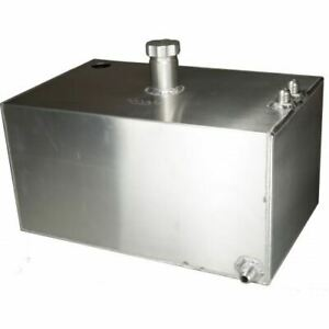 OBP 8 Gallon Square Aluminium JIC Fuel Tank with Sender Hole (OBPFTSJIC03)