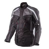 Uber Highway 3/4 Motorcycle Motorbike Waterproof Textile CE Armoured Jacket