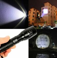 2500 Lumen 10W Zoomable CREE XML T6 LED 18650 Flashlight Focus Torch Adjustable