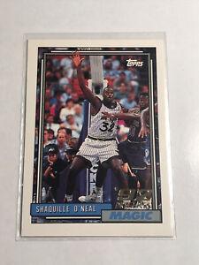 1992-93 Topps Shaquille O'Neal Rookie Card SHAQ RC (Check photos)