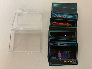 TRON MOVIE 1982 DONRUSS COMPLETE BASE CARD SET OF 66