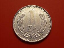 Poland 1 Zloty, 1986, Eagle Bird coin