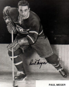 1 -8 x 10 Photo of Paul Merger of the Montreal Canadiens in the early 1950's