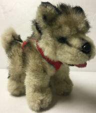 Kipmik Brand Plush Alaskan Sled Dog Husky w Harness Stuffed Alaska 10� Rare