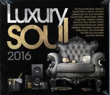 "LUXURY SOUL 2016  ""3 CD's 35 STUNNING TRACKS""  CD"