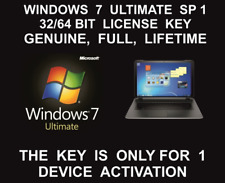 Windows 7 Ultimate 32 /64 Bit Full Version SP1 Product Key+download link