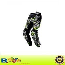 Pantalones Cross Oneal Pant Element Ataque Negro Amarillo Tamaño 56