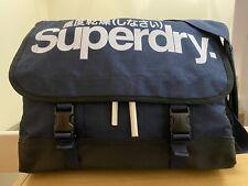 Superdry Supergrit Tarp Laptop Bag - Blue Grit BNWT