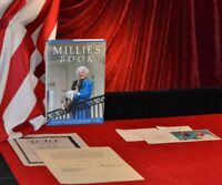 "Signed BARBARA BUSH Autograph hardback ""MILLIE'S BOOK"", COA +  CHRISTMAS CARD"