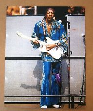 Rock & Roll Jimi Hendrix 8x10 Color Photo with Amp Stacks