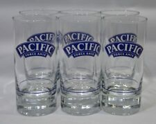 """PACIFIC DE RICARD 6 Verres tube """"Force Anis"""" NEUF"""