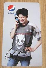 INFINITE PEPSI KOREA K-POP SUNGJONG SUNG JONG OFFICIAL PHOTO CARD PHOTOCARD 7