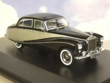 Oxford Dcst 1/43 Rolls Royce Silver Cloud Hooper Empress Negro y Plata 43emp003