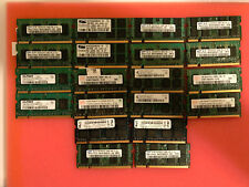 LOT OF 20 x 1GB DDR2 PC2-5300S WORKING RAM SODIMM
