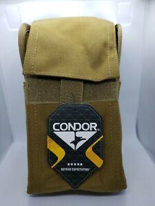 Condor 25 Round Shotgun Reload Pouch Ammo Case Shells Holder MOLLE Coyote Brown