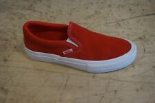 Vans Slip On Pro New size 9 [suede]red/white